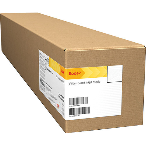 "Kodak Pro Inkjet Gloss Photo Paper, 255g, 12"" x 100m, 2 Rolls"