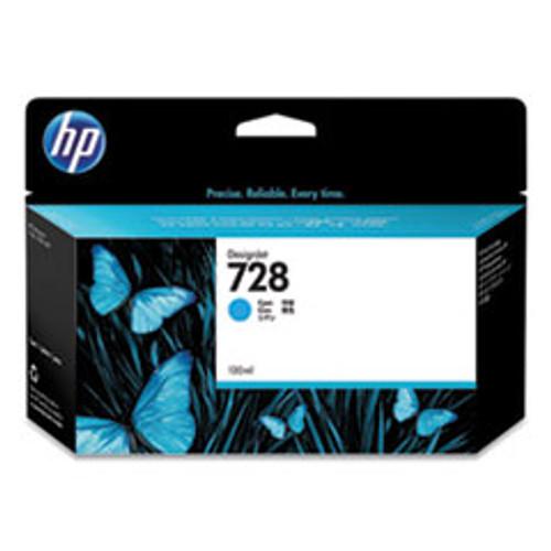 HP 728 130-ml Cyan DesignJet Ink Cartridge - F9J67A