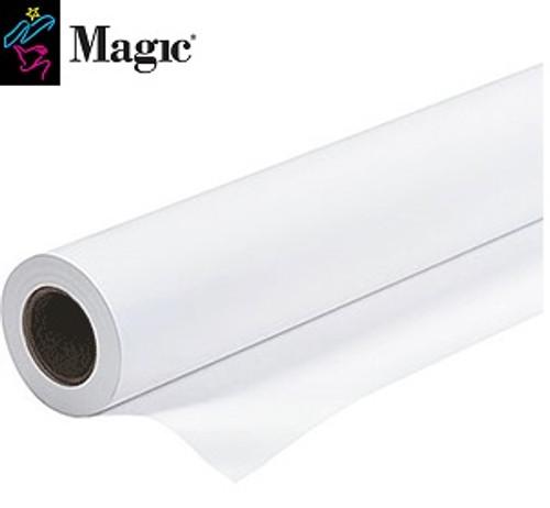 "Magic PPM7 8 Mil Polyproplene Banner Matte - 50""x 100' 3"" Core - 45836"