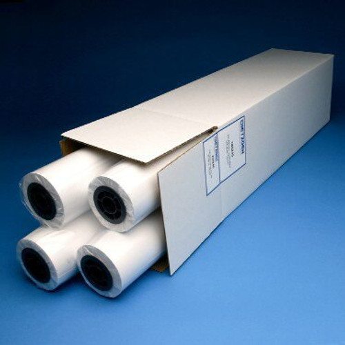 "20lb Inkjet Rag Vellum, 22"" x 150' 4 Roll/Carton, 772225U"