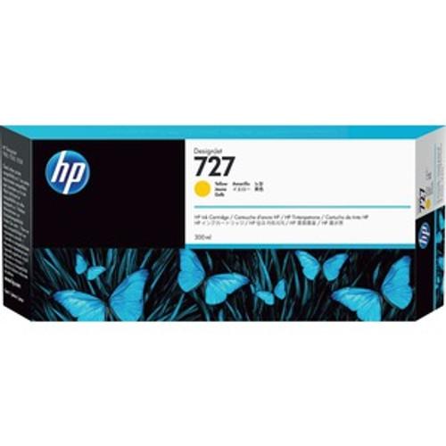 HP 727 Ink Cartridge - Yellow 300ml - F9J78A