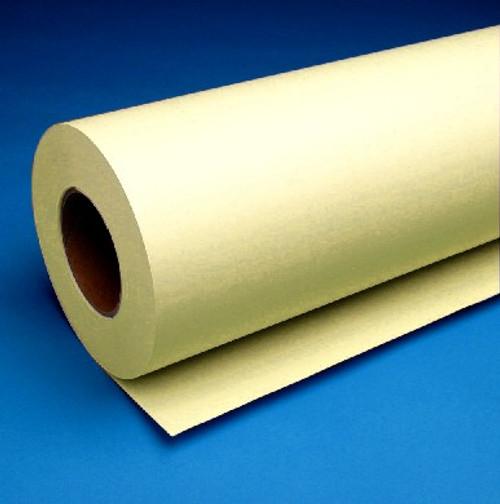 """20lb. Inkjet Yellow Tinted Bond, 22"""" x 150' 4 Rolls,732YC225U"""