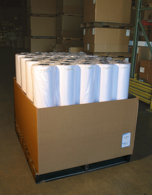 "Recycled Laser Bond, 20lb, 24"" x 500' 44 Roll/Carton, 433C24LUS"