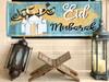 Eid Mubarak White Mosque Horizontal Banner