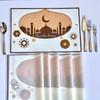 Ramadan Teardrop Mosque Placemat Set