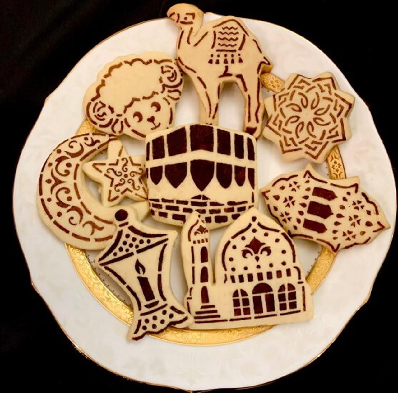 NEW-15 Cookies stencils