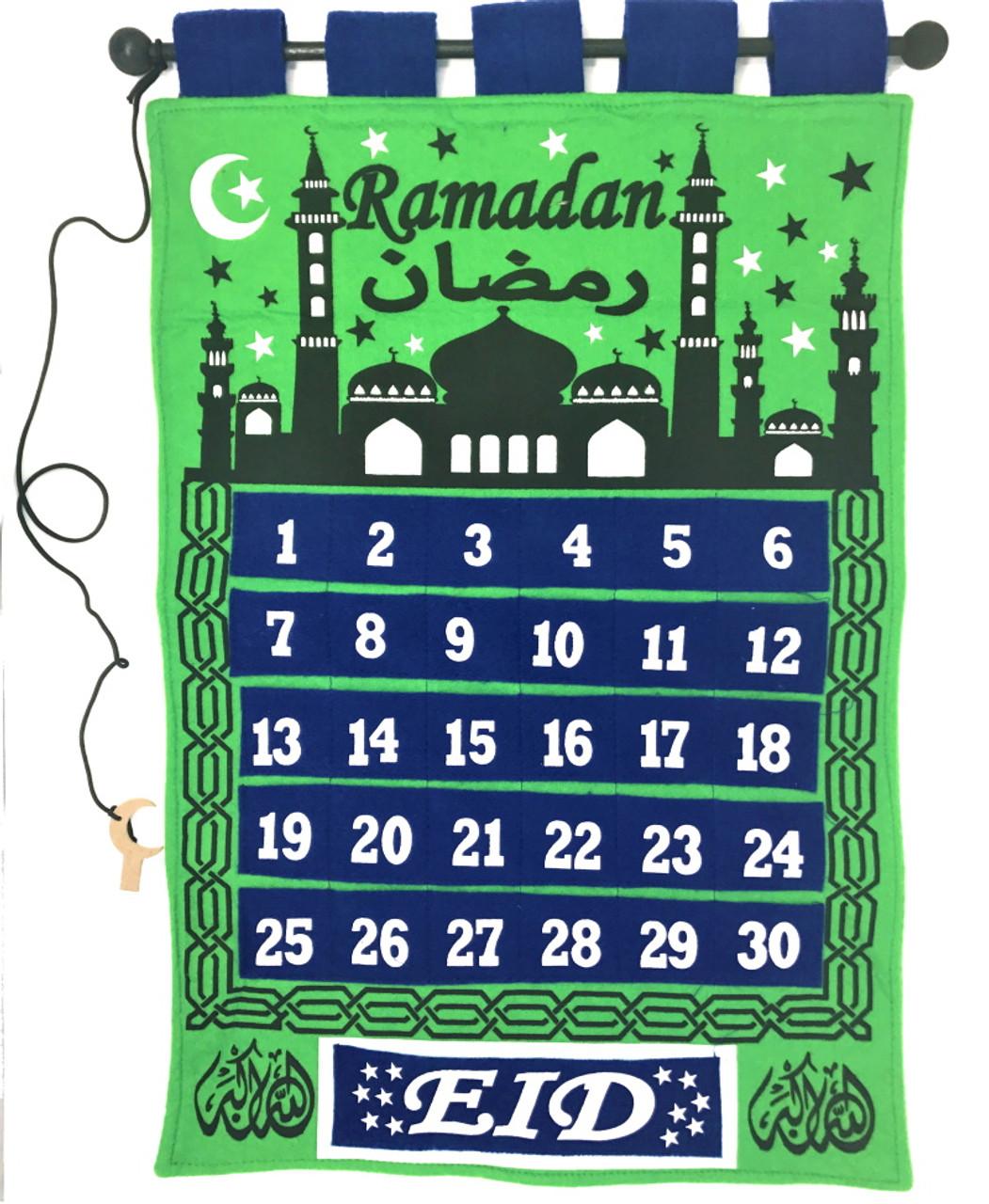 Ramadan Tracker Twilight Mosque-Calendar