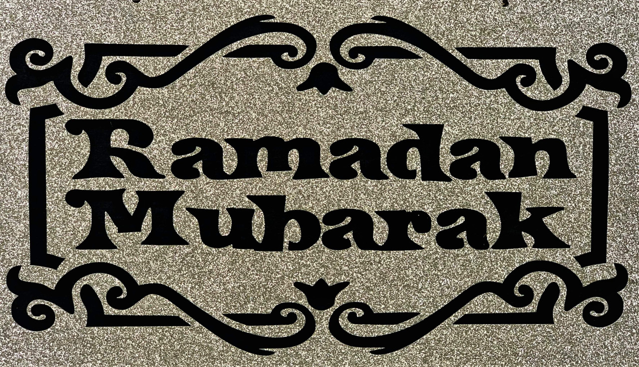 Ramadan Mubarak Hanging Sign