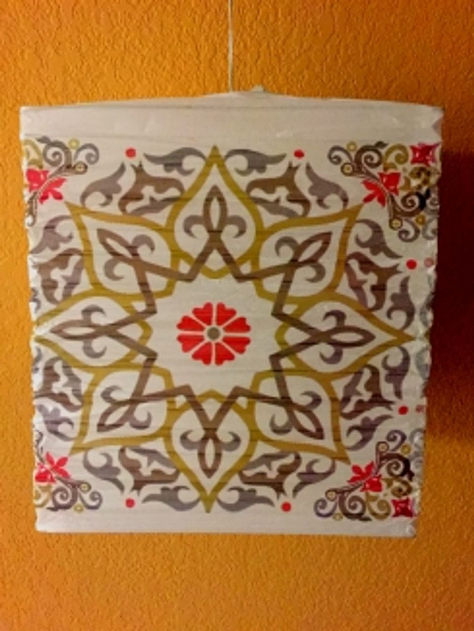Arabesque Square Lantern