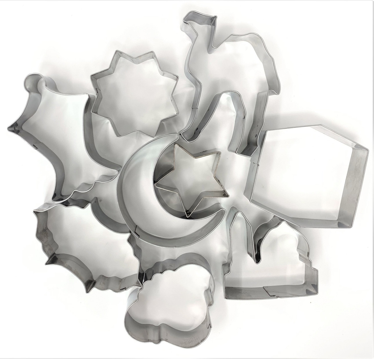 Cookie Cutters- Set of 9 (more shapes same price)