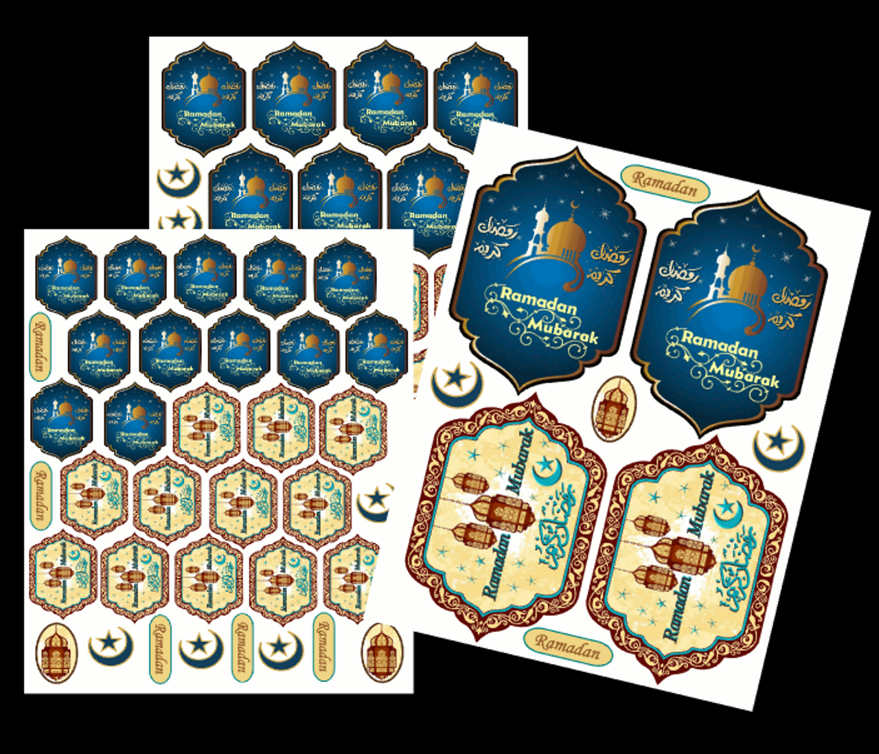 Ramadan Stickers Set