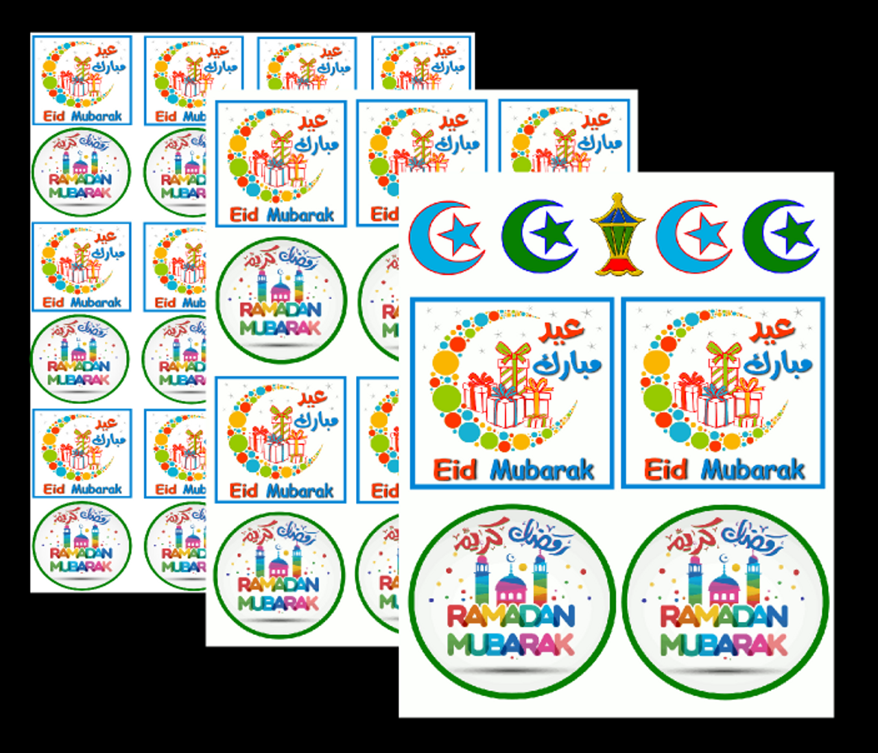 Eid and Ramadan Fun Sticker Set