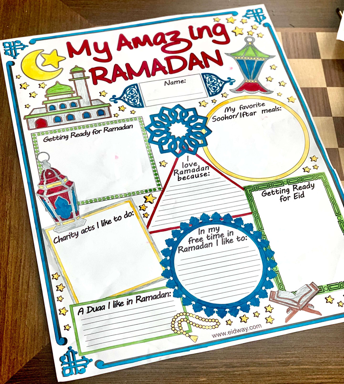 12 My Amazing Ramadan Posters ($1.50 Each)