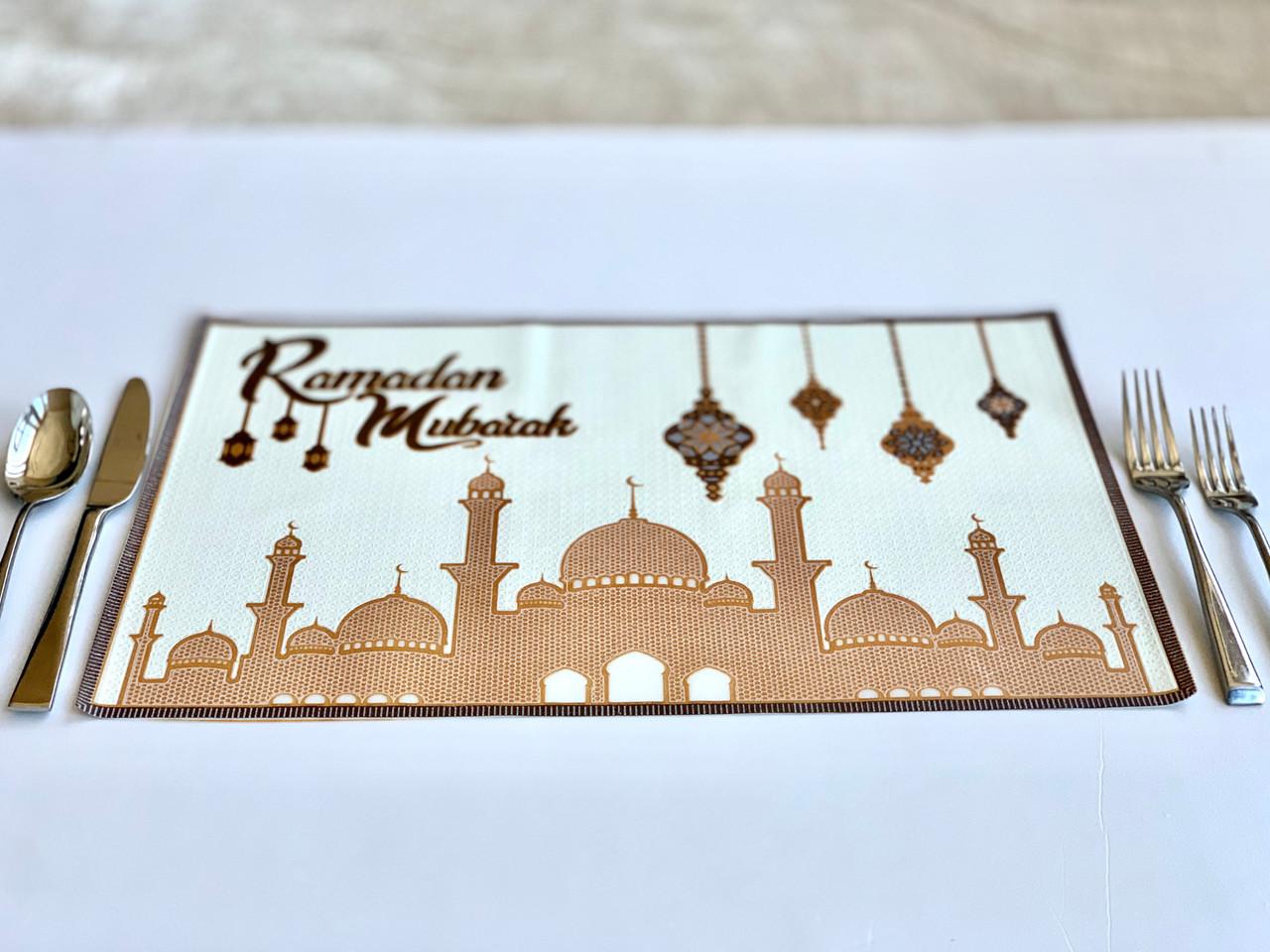 Ramadan Large Mosque Placemat Set