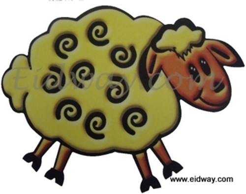 Sheep Window Cling