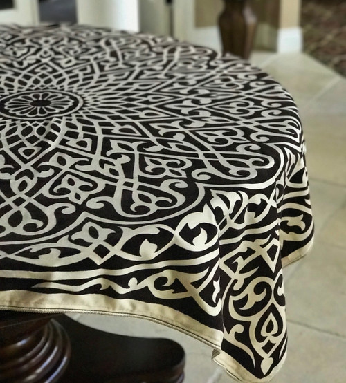 Luxury Arabesque Table Cover
