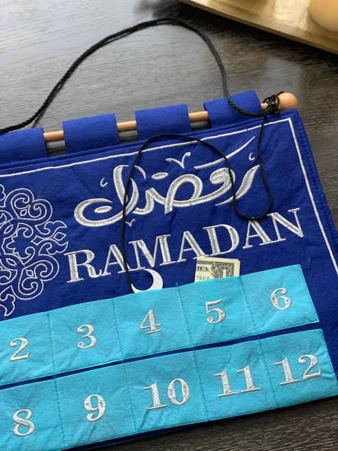 Blue Jewel Tracker-Calendar