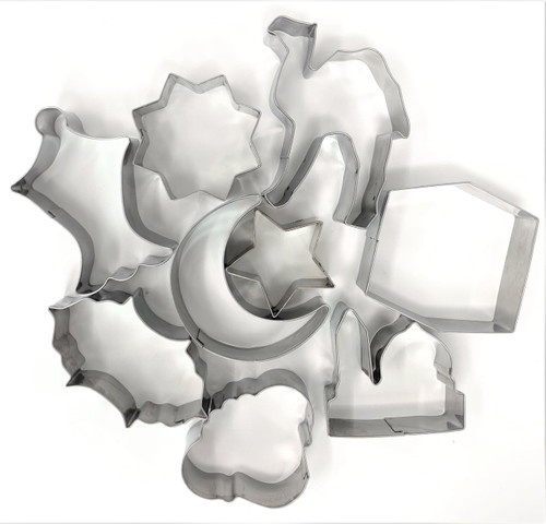 New Cookie Cutters- Set of 9 (more shapes same price)