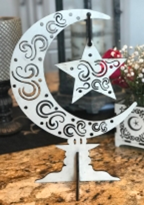 Swirly Moon Center Piece Stand