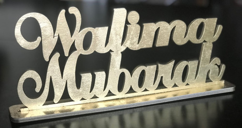 Walima Mubarak Stand