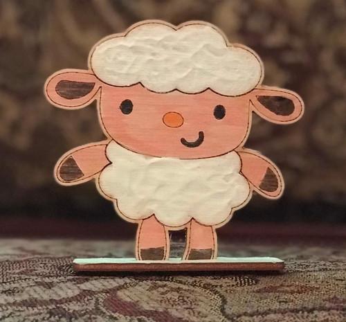 Happy Sheep set of  3