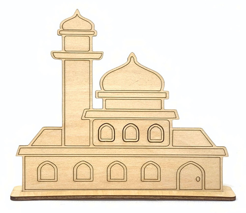 Mosque Craft Stand