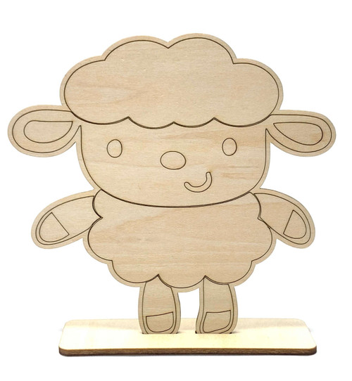 Happy Sheep Craft Stand