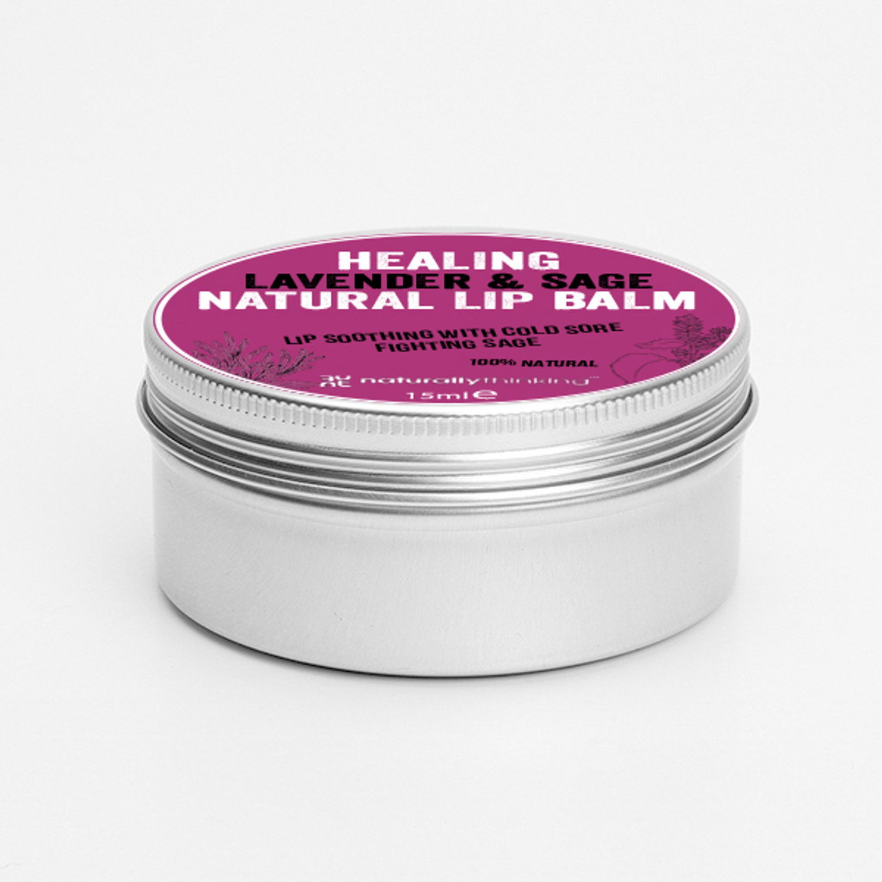 Naturally Thinking lip balm