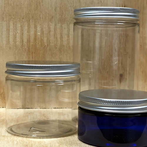 Plastic Jars for aromatherapy, cosmetics and skincare