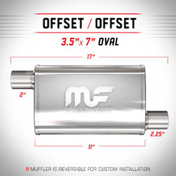Magnaflow 11132_Satin Stainless Muffler
