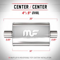 Magnaflow 11215_Satin Stainless Muffler