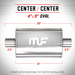 Magnaflow 11216_Satin Stainless Muffler