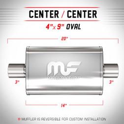 Magnaflow 11219_Satin Stainless Muffler