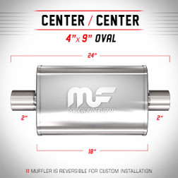 Magnaflow 11244_Satin Stainless Muffler