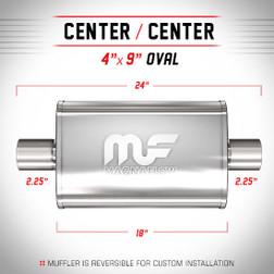Magnaflow 11245_Satin Stainless Muffler