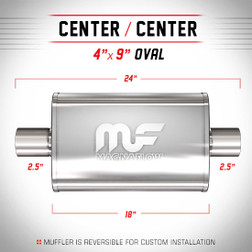 Magnaflow 11246_Satin Stainless Muffler
