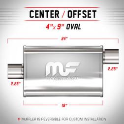 Magnaflow 11255_Satin Stainless Muffler