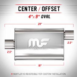 Magnaflow 11256_Satin Stainless Muffler