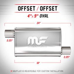 Magnaflow 11265_Satin Stainless Muffler