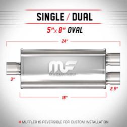 Magnaflow 12288_Satin Stainless Muffler