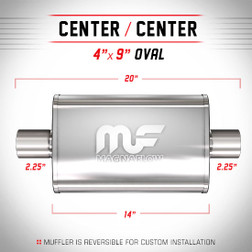 Magnaflow 14315_Polished Stainless Muffler