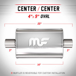 Magnaflow 14319_Polished Stainless Muffler