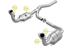 Magnaflow 49187 | DODGE NITRO, JEEP LIBERTY | 3.7L | Catalytic Converter-Direct Fit | OEM Grade EPA