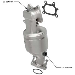 Magnaflow 51893 | ACURA TL/TSX/MDX/ZDX, HONDA ACCORD | 3.5L | Front | BANK 2 | Catalytic Converter-Direct Fit | OEM Grade EPA