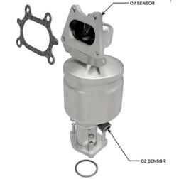 Magnaflow 51741 | ACURA MDX/TL/RL, HONDA ACCORD/ODYSSEY/PILOT/RIDGELINE, SATURN VUE | 3.5L | BANK 1- Rear Manifold | Catalytic Converter-Direct Fit | OEM Grade EPA