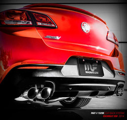 Chevy SS Rear Exhaust Pic