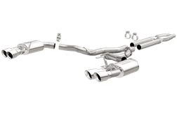 Ford SHELBY MUSTANG GT350/GT350R   (Stainless Tips)Competition Series Cat Back Performance Exhaust System