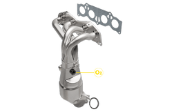 Magnaflow 452110 Scion Exhaust Manifold With Integrated California Catalytic Converter