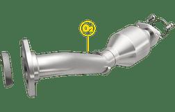 Magnaflow 52031 Honda Direct-Fit OEM Grade Catalytic Converter Federal (Exc.CA)