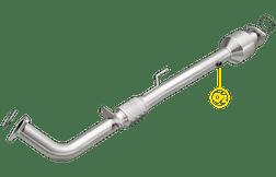 Magnaflow 52023   HONDA ACCORD   2.4L   Standard Trans   Catalytic Converter-Direct Fit   OEM Grade EPA